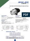 Data Sheet Bomba centrifuga agua