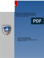 Perfil Oficial Seguridad Msp