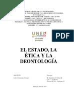 La Deontología Del Estado Eulises Gutierrez