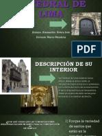 Catedral de Lima Vacaciones Yeee