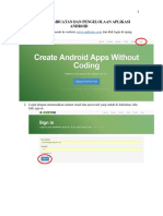 Tutorial Pembuatan Dan Pengelolaan Aplikasi Android