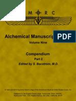 Alchemical Manuscript Series v 9