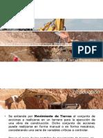 Movimientos de Tierras – Excavaciones