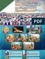 Procesos Propios de Los Movimientos Humanos Entres Sociedades, Culturas y Sus Medios Urbanos