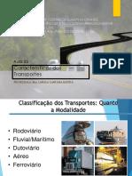 Aula 02 - Transportes - Caracterisicas e Conceitos