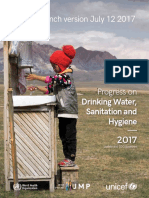 Progress on Drinking Water, Sanitation and Hygiene