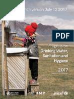 Progress on Drinking Water, Sanitation and Hygiene