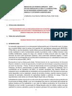 Informe Extensión Agropecuaria