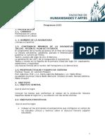 Programa Literatura Española UNR 2015