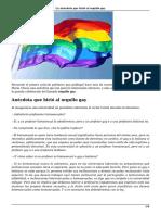 La Anecdota Hirio Al Orgullo Gay