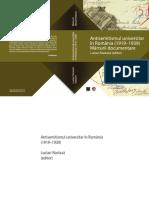 Antisemitismul universitar în România. 1919-1939