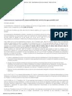 Agua Potable Rural - SISS - Superintendencia de Servicios Sanitarios - Gobierno de Chile