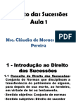 Sucessões (Parte 1 e 2)