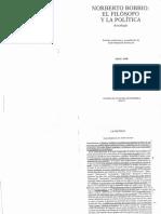 44 - Bobbio N - El Filosofo y La Politica - Cap, La Politica (24 Copias)