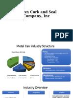 Crown Cork and Seal Company, Inc