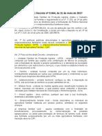 Decreto Nº 9.064