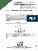 Oficio OAJ-40-849-17