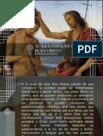 Cap. X La Lógica de La Fe en Cristo