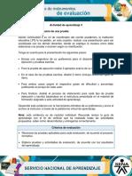 AA3 Evidencia Estructuracion de Una Prueba