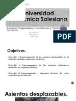 Asientos Desplazables y Calefactores 3