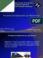 143402923 Procesos de Separacion Por Membranas