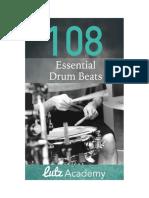 108 Essential Drum Beats