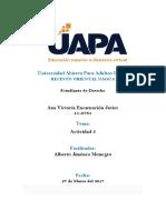 Tarea 5 - Introduccion Al Estudio Del Derecho - Ana Victoria Encarnación Javier