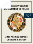 2016 MCPD Report on Crime & Safety