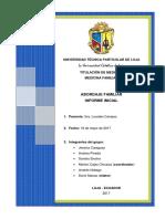 Informe Inicial Medicina Familiar