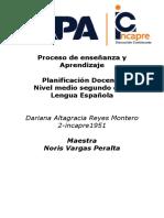 Lengua Española Dariana Planificacion1