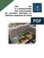 Cuantificación Rendimiento Productividad Concreto Reforzado
