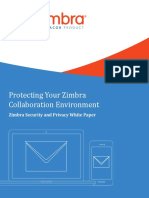 Protecting Your Zimbra Collaboration Environment Whitepaper