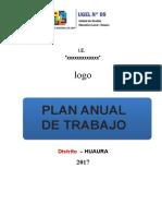 Esquema de Plan Anual de Trabajo 2017 Ebr - Vacio