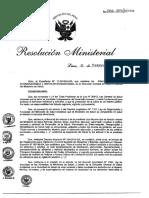 RM 066 -2015 SA - NTS N° 114-MINSADIGESA-V.01 Norma Sanitaria para el almacenamiento de alimentos terminados destinado al consumo humano