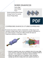 Compresores dinamicos