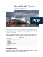 Project Manager (PMI) in Repair Shipyard