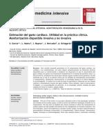 Estimación del gasto cardíaco, Utilidad en la práctica clínica.pdf