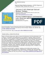 Garramuno-Forms of Disbelonging