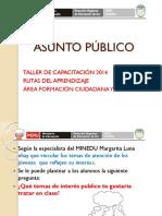 Asunto Publico - ÁREA DE CC.SS.