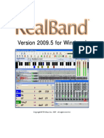 RealBand 2009 User's Guide