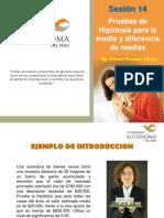 Sesion14 Prueba de Hipotesis Para La Media (k)