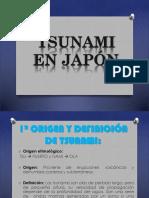 Ecologia Tsunami en Japon
