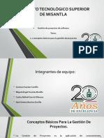 1.1 Conceptos Basicos Para La Gestion de Proyectos, Equipo1