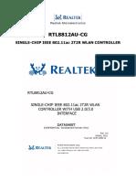 Rtl8812au-Cg Datasheet PDF