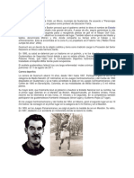 Biografía de Mateo Flores