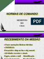 Atividade de Comando Do Comandante de Patrulha