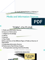 Mil Media and Information Sources