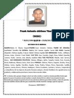 Frank Antonio Chirinos Ybarra