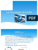 Las Tecnologías de La WEB