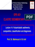 Volcaniclastic Sediments - Composition, Classification and Diagenesis